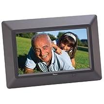 Impecca DFM-700 7 Digital Photo Frame - Black
