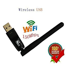 Anewish® Wireless WiFi USB Dongle Stick Aura HD MAG 250 254 255 260 Openbox Skybox IPTV OTT Box