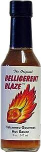 Belligerent Blaze Hot Sauce 5 Fl Oz from AmericanSpice.com