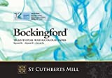 Bockingford Watercolour 300gsm Gummed Paper Pad 12 A4 Sheets 65 EXTRA FREE