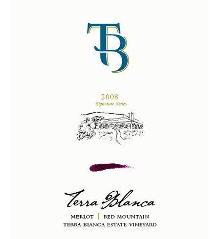 2008 Terra Blanca Winery Signature Series Merlot 750 Ml