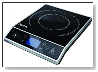 Max Burton 6400 Digital Portable Induction Cooktop 1800 Watts With LCD Display