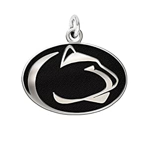 penn state nittany lions charm 3 4 quot antique