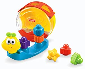 Fisher-Price Bright Beginnings Singin' Snail Pail