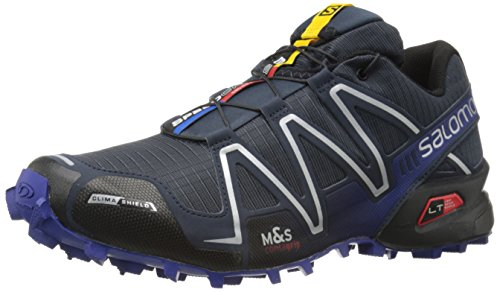 Salomon Men's Speedcross 3 CS Trail Running, Deep Blue, 9 D US (Speedcross Cs Salomon compare prices)