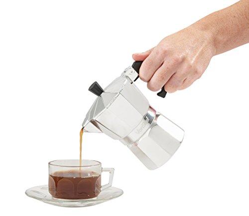 VonShef 3 Cup Italian Espresso Coffee Maker Stove Top Moka Macchinetta