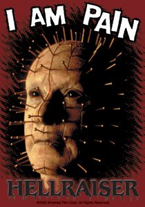Hellraiser I Am Pain Sticker S-2217