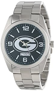 Game Time Unisex NFL-ELI-GB Elite Green Bay Packers 3-Hand Analog Watch by Game Time