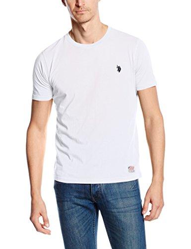 U.S. Polo Assn. - T-Shirt Maniche Corte USPA 1890, Uomo, Bianco (100), XL