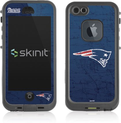 Nfl - New England Patriots - New England Patriots Distressed - Skin For Lifeproof Fre Iphone 5/5S Case