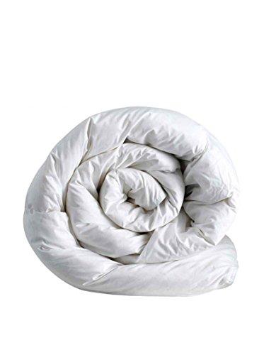 ITALIAN BED LINEN Piumino Invernale Bianco a una piazza e mezza 200 x 200 cm