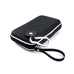 Kroo Portable Hard Drive EVA Case - Black