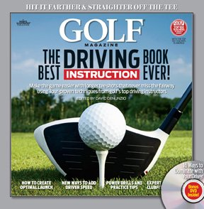 GOLF: THE BEST DRIVING INSTRUCTION BOOK EVER! (H) with DVD - Book by The Booklegger