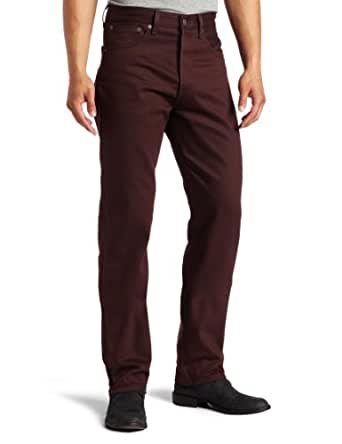 Levi's Men's 501 Shrink To Fit Jean, Barbeque Rigid, 28x34