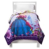 Disney Frozen Twin Comforter Bundle, Includes Twin Sheet Set, Olaf Cuddle Pillow, Anna&elsa Throw Blanket, and Frozen Wall Decals