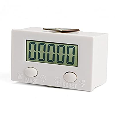 LCD Electronic Digital Counter 0-99999 Accumulative Counting Meter Gauge Mold Digital Counter Punch Counter