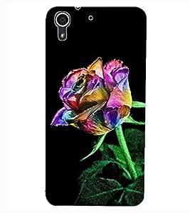 ColourCraft Love Rose Design Back Case Cover for HTC DESIRE 626