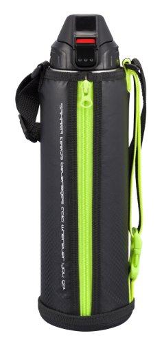 TIGER 水筒 ステンレスボトル 「サハラクール」 保冷専用 ダイレクト ブラック 1.5L  MMN-H150-K