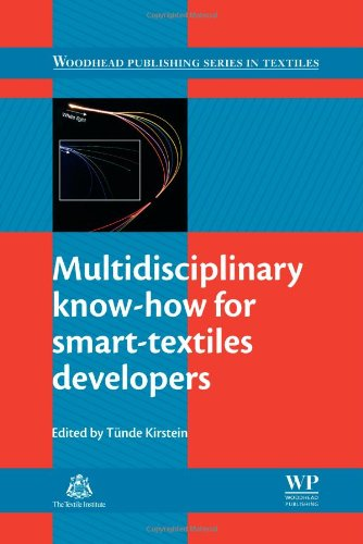 Multidisciplinary Know-How For Smart-Textiles Developers (Woodhead Publishing Series In Textiles)