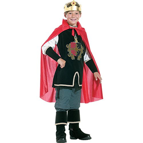Childs Medieval King Costume (Size:Medium 7-8)