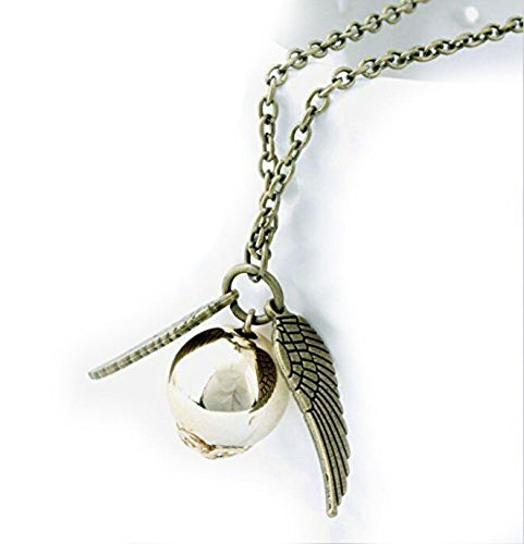 fairy-jewelry-harry-potter-golden-snitch-quicksilver-golden-pearl-necklace