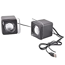 Adnet USB MINI USB Mini Speakers Black