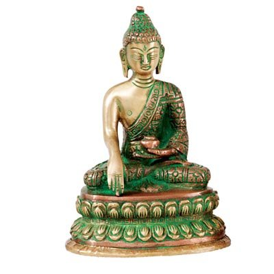 recycled-brass-statue-buddha-in-copper-and-brass