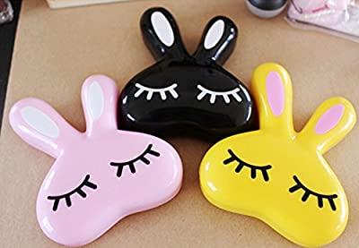 Cute Love Rabbit Contact Lens Case Eye Care Set Container For Contact Lenses OFFICE-121