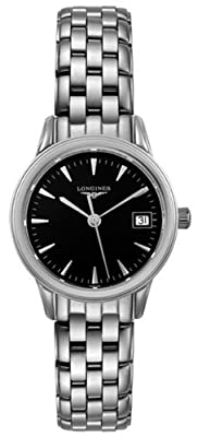 Longines Flagship Black Dial Ladies Watch L42164526
