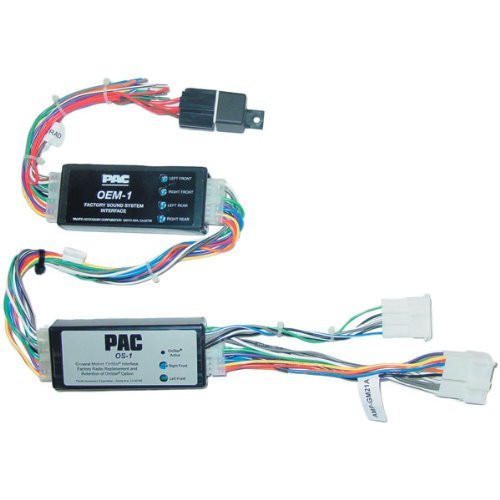 Pac Os-1 Bose Onstar Interface For Bose Equipped 1996-2002 Vehicles With Bose System
