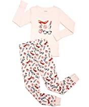 "Leveret Kids ""Lipstick"" Pajama (5-6 Years)"