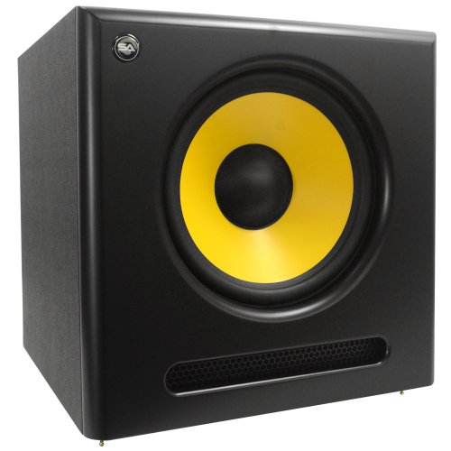 Seismic Audio Spectra-12Sub Active 12-Inch Studio Subwoofer 120 Watts Rms Studio Subwoofer Home Theater
