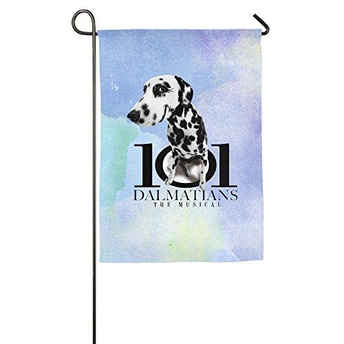 [TLK 101-Dalmatians Place House Flag 12*18 Inch] (Dalmatians Costume Makeup)