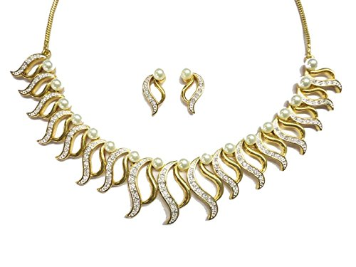 sempre-london-18k-gold-two-tone-plated-designer-necklace-with-designer-earrings-in-aaa-grade-austria