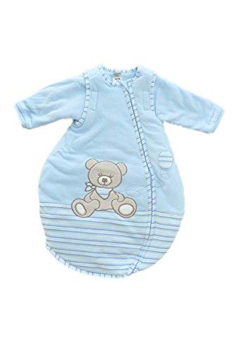 jacky jungen baby ganzjahres schlafsack langarm 100 baumwolle hellblau r jacky 4001742574084. Black Bedroom Furniture Sets. Home Design Ideas