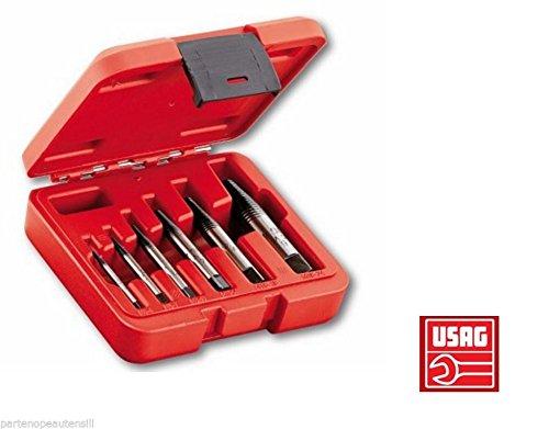 ESTRATTORI CONICI USAG 458 S6 PER VITI E PRIGIONIERI SPEZZATI DA 1÷6 MM 458012