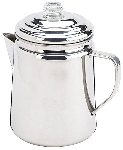 Coleman 12 Cup Stainless Steel Coffee Percolator From
