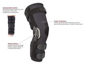 Buy Donjoy Playmaker II Knee Brace w Neoprene Material (Small) by Donjoy