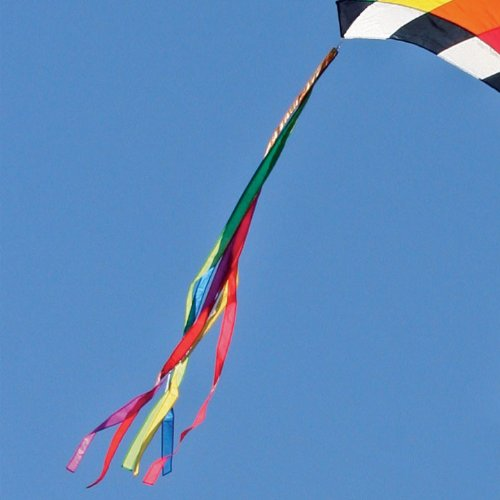 7 1/2-ft. Ribbon Kite Tail Rainbow