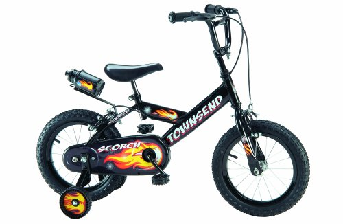 Townsend Scorch Boy's Bike - Black, 14 Inch