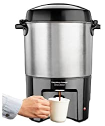 Hamilton Beach Brands 40540 40-Cup BrewStation Aluminum Coffee Urn made by Hamilton Beach Brands