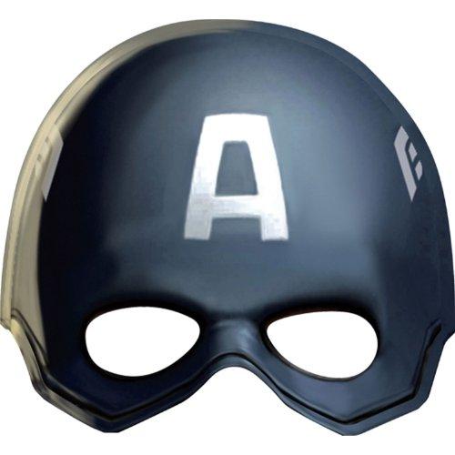 Captain America Mask Party Favors (8ct)