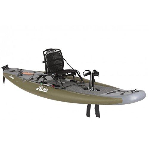 Hobie Mirage Inflatable Single Kayak i11s 2018 Smoke Olive gray