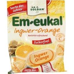 EM-EUKAL-Bonbons-Ingwer-Orange-zuckerfrei-75-g-Bonbons