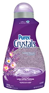 Purex Crystals Laundry Enhancer, Lavender Blossom, 55 Ounce