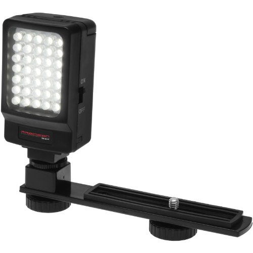 Precision Design Digital Camera / Camcorder LED Video Light with Bracket (Camera Video Bracket compare prices)