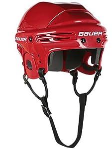 Bauer Hockey Helmet Red - Bauer 2100 Helmet - Bauer Derby Helmet by Bauer