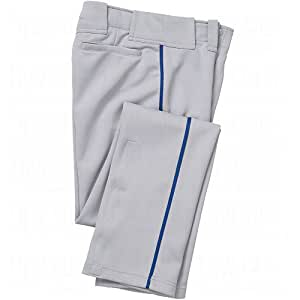 Easton Youth Bio-Dri Quantum Plus Piped Baseball Pants X-Large Grey/Royal