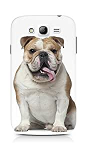 Amez designer printed 3d premium high quality back case cover for Samsung Galaxy Grand Neo (Pug Stupid)