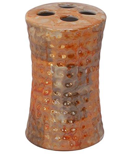 souvnear-119cm-toothbrush-holder-ceramic-toothbrush-stand-case-for-bathroom-vanities-handmade-hammer
